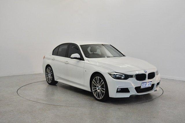 Used BMW 316i F30 MY1114 M Sport, 2014 BMW 316i F30 MY1114 M Sport White 8 Speed Automatic Sedan