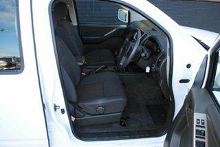 2010 Nissan Navara D40 ST Super White 6 Speed Manual Utility