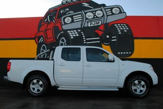 2010 Nissan Navara D40 ST Super White 6 Speed Manual Utility.