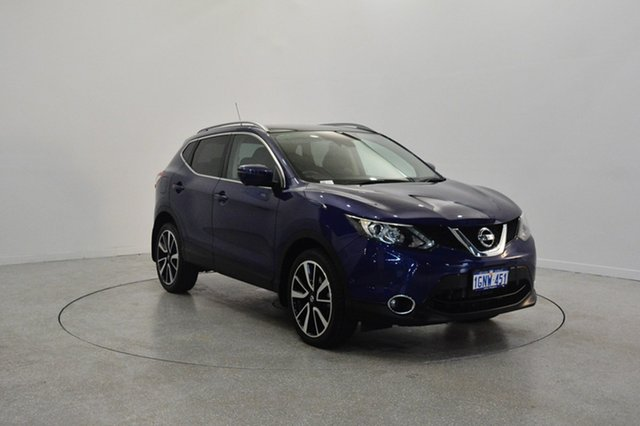 Used Nissan Qashqai J11 TI, 2015 Nissan Qashqai J11 TI Blue 1 Speed Constant Variable Wagon