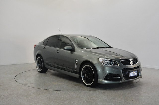Used Holden Commodore VF MY15 SS, 2014 Holden Commodore VF MY15 SS Alto Grey 6 Speed Manual Sedan