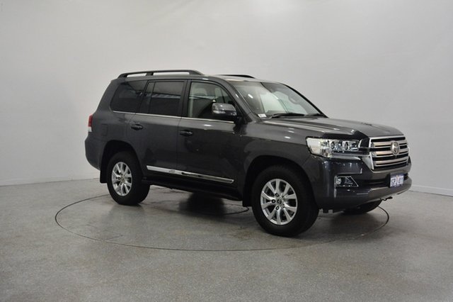 Used Toyota Landcruiser VDJ200R Sahara, 2015 Toyota Landcruiser VDJ200R Sahara Grey 6 Speed Sports Automatic Wagon