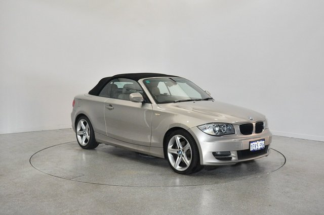 Used BMW 120i E88 , 2009 BMW 120i E88 Champagne 6 Speed Automatic Convertible