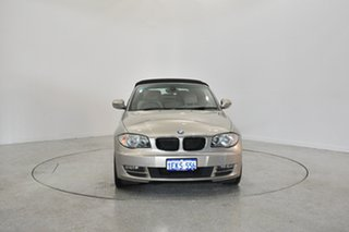 2009 BMW 120i E88 Champagne 6 Speed Automatic Convertible