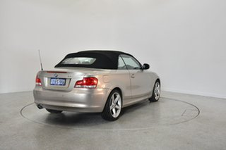 2009 BMW 120i E88 Champagne 6 Speed Automatic Convertible.