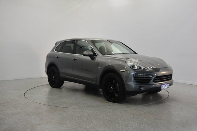 Used Porsche Cayenne 92A MY11 Diesel Tiptronic, 2010 Porsche Cayenne 92A MY11 Diesel Tiptronic Grey 8 Speed Sports Automatic Wagon