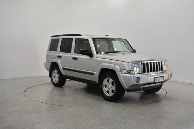 Used Jeep Commander XH , 2008 Jeep Commander XH Silver 5 Speed Sports Automatic Wagon