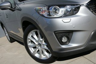 2014 Mazda CX-5 KE1021 MY14 Akera SKYACTIV-Drive AWD Silver 6 Speed Sports Automatic Wagon.
