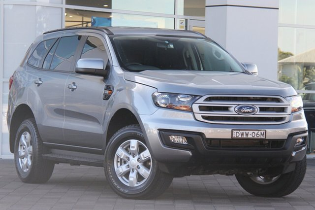 Used Ford Everest UA Ambiente 4WD, 2017 Ford Everest UA Ambiente 4WD Aluminium 6 Speed Sports Automatic SUV