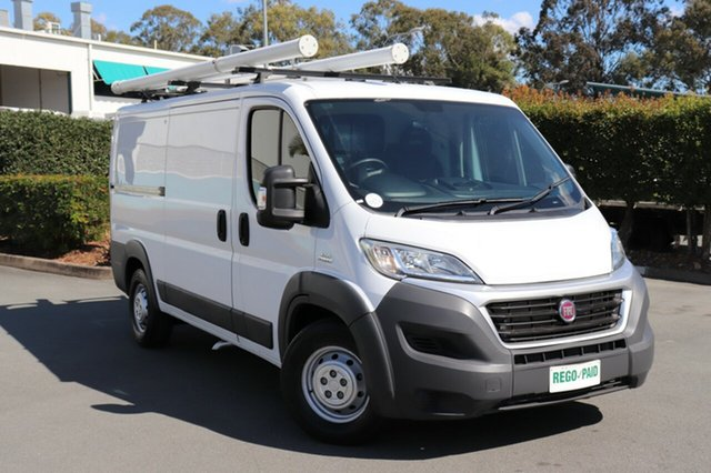 Used Fiat Ducato MY15 MWB/LOW, 2014 Fiat Ducato MY15 MWB/LOW Pastel White 6 Speed Manual Van