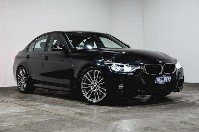 Used BMW 330i F30 LCI M Sport, 2017 BMW 330i F30 LCI M Sport Black 8 Speed Sports Automatic Sedan