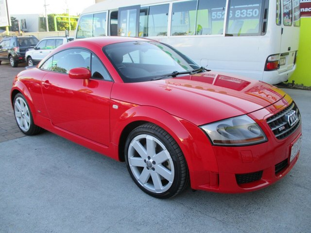 Used Audi TT  S Line, 2003 Audi TT QUATTRO S Line Red 6 Speed Auto Dual Clutch Coupe