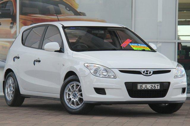 Used Hyundai i30 FD MY09 SX, 2009 Hyundai i30 FD MY09 SX White 4 Speed Automatic Hatchback