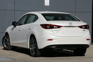 2018 Mazda 3 BN5238 SP25 SKYACTIV-Drive Astina Snowflake White 6 Speed Sports Automatic Sedan.
