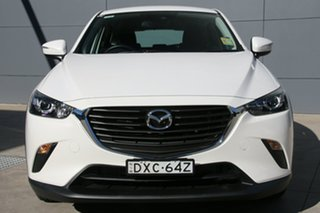 2018 Mazda CX-3 DK2W76 Neo SKYACTIV-MT Snowflake White 6 Speed Manual Wagon