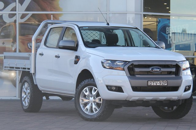 Used Ford Ranger PX MkII XLS Double Cab, 2017 Ford Ranger PX MkII XLS Double Cab Frozen White 6 Speed Sports Automatic Utility