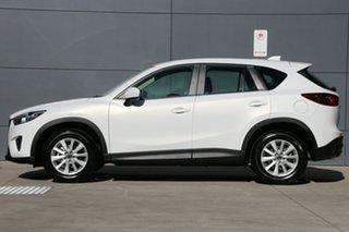 2013 Mazda CX-5 KE1031 MY14 Maxx SKYACTIV-Drive AWD Sport White 6 Speed Sports Automatic Wagon