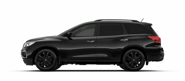 New Nissan Pathfinder R52 Series II MY17 ST-L X-tronic 2WD, 2018 Nissan Pathfinder R52 Series II MY17 ST-L X-tronic 2WD Diamond Black 1 Speed Constant Variable