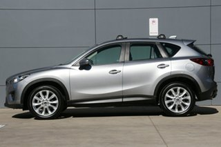 2014 Mazda CX-5 KE1021 MY14 Akera SKYACTIV-Drive AWD Silver 6 Speed Sports Automatic Wagon