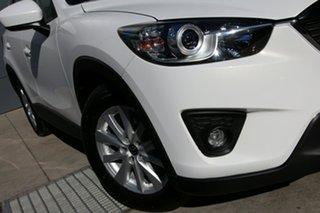 2013 Mazda CX-5 KE1031 MY14 Maxx SKYACTIV-Drive AWD Sport White 6 Speed Sports Automatic Wagon.