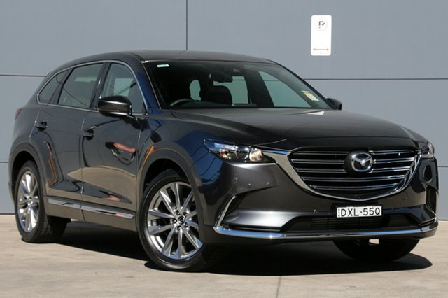 Demo Mazda CX-9 TC GT SKYACTIV-Drive i-ACTIV AWD, 2018 Mazda CX-9 TC GT SKYACTIV-Drive i-ACTIV AWD Machine Grey 6 Speed Sports Automatic Wagon