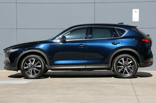2018 Mazda CX-5 KF4WLA GT SKYACTIV-Drive i-ACTIV AWD Deep Crystal Blue 6 Speed Sports Automatic