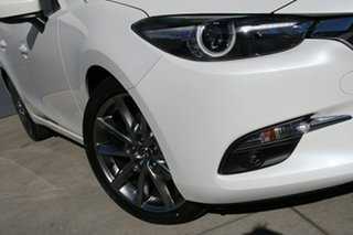 2018 Mazda 3 BN5238 SP25 SKYACTIV-Drive Astina Snowflake White 6 Speed Sports Automatic Sedan