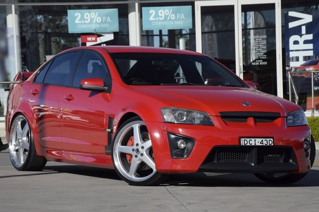 Used Holden Special Vehicles GTS E Series , 2006 Holden Special Vehicles GTS E Series Red 6 Speed Manual Sedan