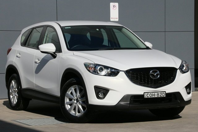 Used Mazda CX-5 KE1031 MY14 Maxx SKYACTIV-Drive AWD Sport, 2013 Mazda CX-5 KE1031 MY14 Maxx SKYACTIV-Drive AWD Sport White 6 Speed Sports Automatic Wagon