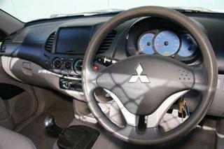 2007 Mitsubishi Triton ML MY07 GLX White 5 Speed Manual Cab Chassis