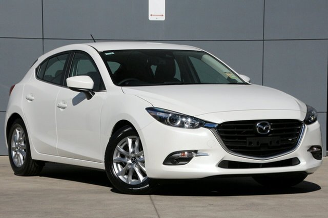 New Mazda 3 BN5478 Touring SKYACTIV-Drive, 2018 Mazda 3 BN5478 Touring SKYACTIV-Drive Snowflake White 6 Speed Sports Automatic Hatchback