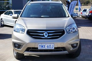 2012 Renault Koleos H45 Phase II Bose Special Edition Beige 6 Speed Sports Automatic Wagon.