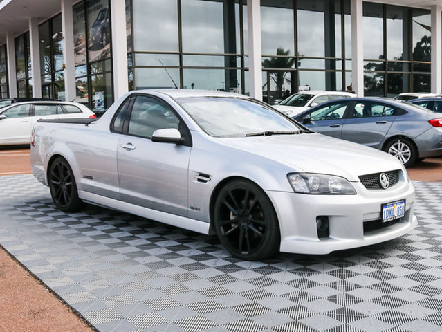 Used Holden Ute VE MY10 SS V, 2010 Holden Ute VE MY10 SS V Silver 6 Speed Sports Automatic Utility