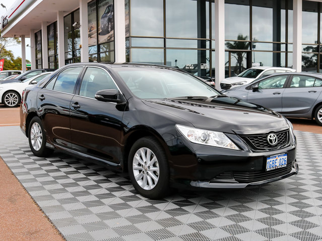 Used Toyota Aurion GSV50R AT-X, 2016 Toyota Aurion GSV50R AT-X Black 6 Speed Sports Automatic Sedan