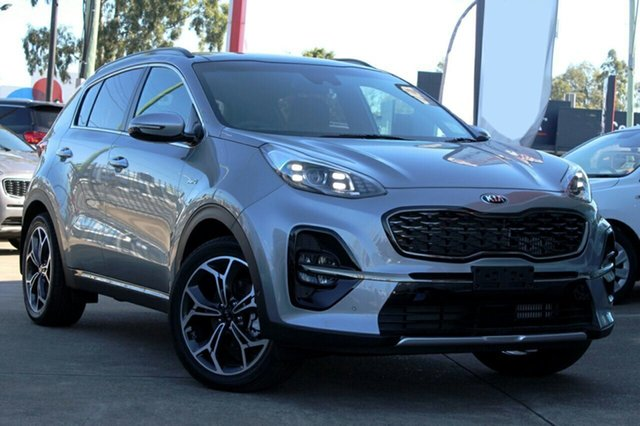 New Kia Sportage QL MY21 GT-Line AWD Mount Gravatt, 2020 Kia Sportage QL MY21 GT-Line AWD Steel Grey 8 Speed Sports Automatic Wagon