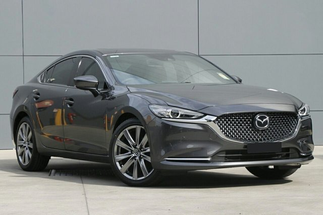 New Mazda 6 GL1032 Atenza SKYACTIV-Drive, 2019 Mazda 6 GL1032 Atenza SKYACTIV-Drive Machine Grey 6 Speed Sports Automatic Sedan