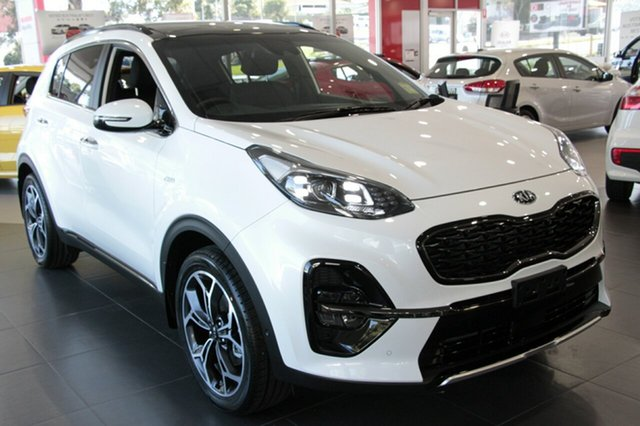 New Kia Sportage QL MY19 GT-Line AWD, 2018 Kia Sportage QL MY19 GT-Line AWD Clear White 6 Speed Sports Automatic Wagon