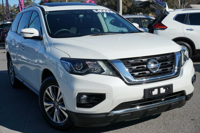 Used Nissan Pathfinder R52 Series II MY17 ST-L X-tronic 4WD, 2018 Nissan Pathfinder R52 Series II MY17 ST-L X-tronic 4WD White 1 Speed Constant Variable Wagon