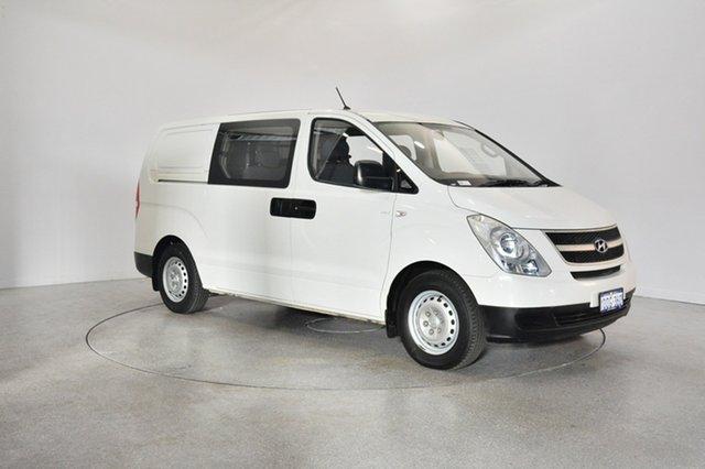 Used Hyundai iLOAD TQ-V Crew Cab, 2011 Hyundai iLOAD TQ-V Crew Cab Ceramic White 5 Speed Sports Automatic Van