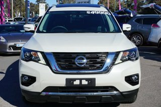 2018 Nissan Pathfinder R52 Series II MY17 ST-L X-tronic 4WD White 1 Speed Constant Variable Wagon.