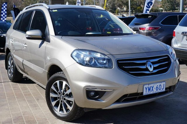 Used Renault Koleos H45 Phase II Bose Special Edition, 2012 Renault Koleos H45 Phase II Bose Special Edition Beige 6 Speed Sports Automatic Wagon
