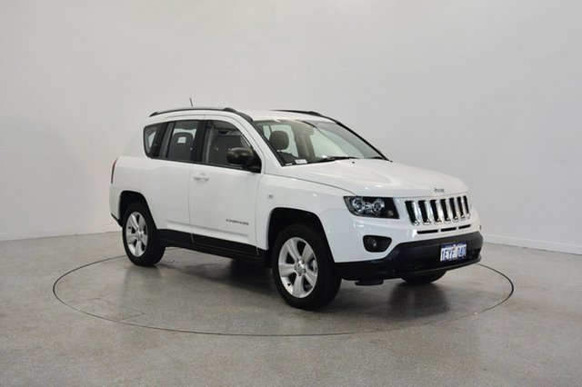Used Jeep Compass MK MY16 Sport CVT Auto Stick, 2016 Jeep Compass MK MY16 Sport CVT Auto Stick Bright White 6 Speed Constant Variable Wagon