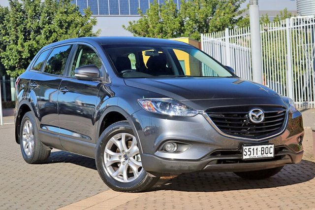 Used Mazda CX-9 TB10A5 Classic Activematic, 2014 Mazda CX-9 TB10A5 Classic Activematic Grey 6 Speed Sports Automatic Wagon