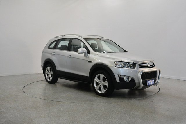 Used Holden Captiva CG Series II 7 AWD LX, 2012 Holden Captiva CG Series II 7 AWD LX Silver 6 Speed Sports Automatic Wagon