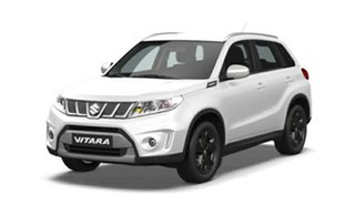 2018 Suzuki Vitara LY S Turbo 2WD Pearl White 6 Speed Sports Automatic Wagon.