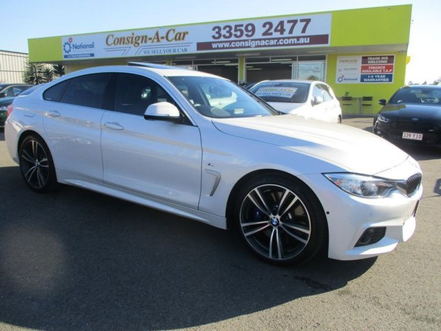 Used BMW 430i F36 100 Year Gran Coupe Edition M Sport, 2016 BMW 430i F36 100 Year Gran Coupe Edition M Sport White 8 Speed Sports Automatic Hatchback