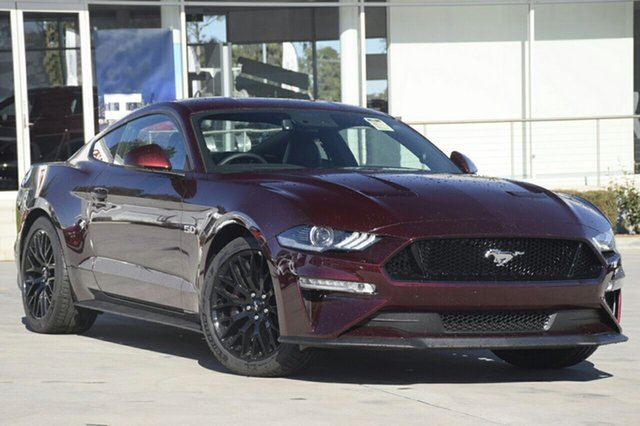 New Ford Mustang FN MY18 GT Fastback SelectShift, 2018 Ford Mustang FN MY18 GT Fastback SelectShift Royal Crimson 10 Speed Sports Automatic Fastback