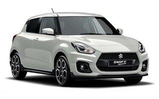 2018 Suzuki Swift AZ Sport Pure White Pearl 6 Speed Sports Automatic Hatchback