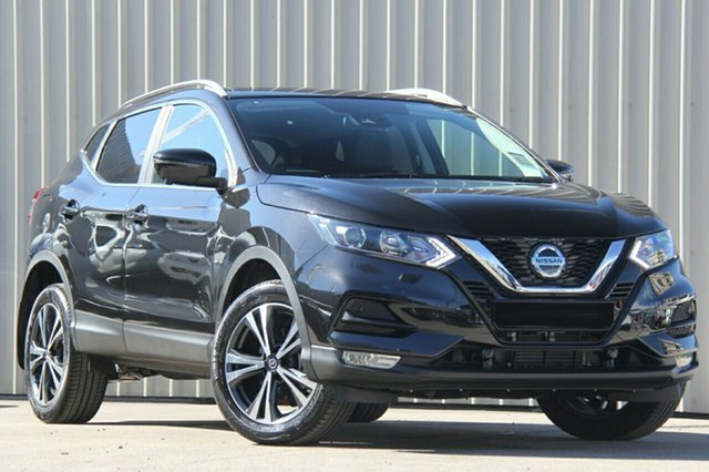 New Nissan Qashqai J11 Series 3 MY20 ST-L X-tronic St Marys, 2020 Nissan Qashqai J11 Series 3 MY20 ST-L X-tronic Pearl Black 1 Speed Constant Variable Wagon