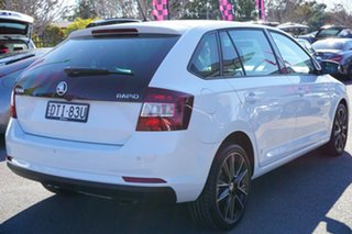 2018 Skoda Rapid NH MY18.5 Spaceback DSG White 7 Speed Sports Automatic Dual Clutch Hatchback